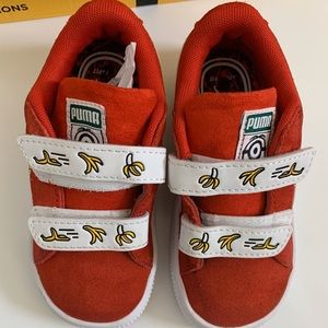 Puma Minions Suede Toddler Sneakers